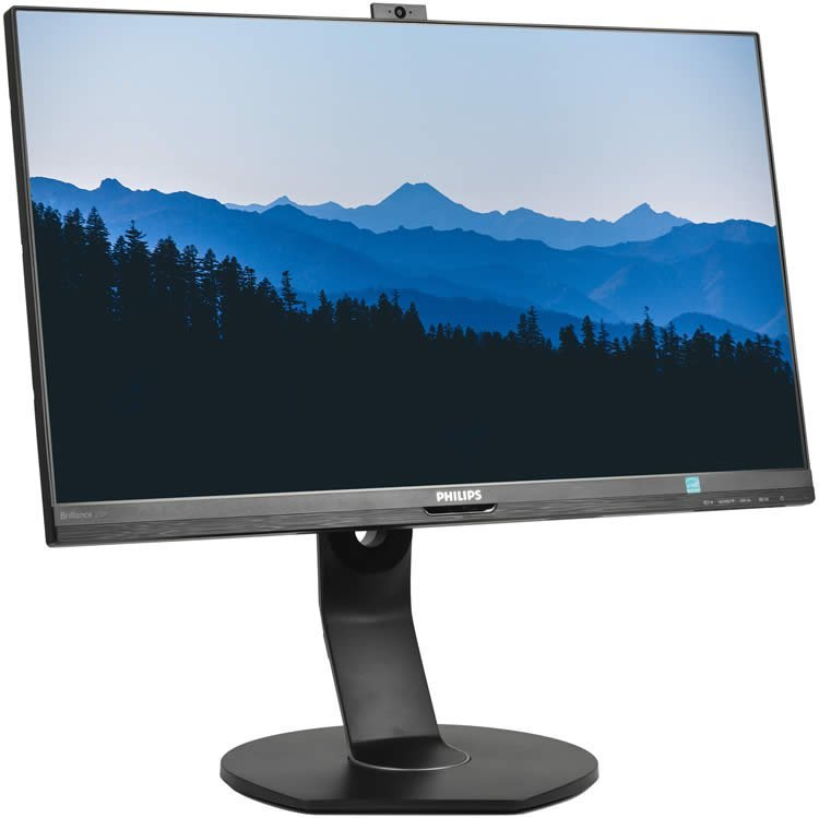 Review of the monitor Philips Brilliance 272P7V with a built-in telescopic webcam