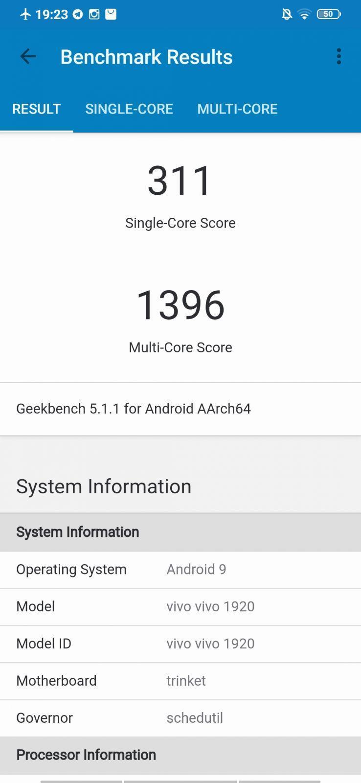 Vivo V17 review.  Good smartphone