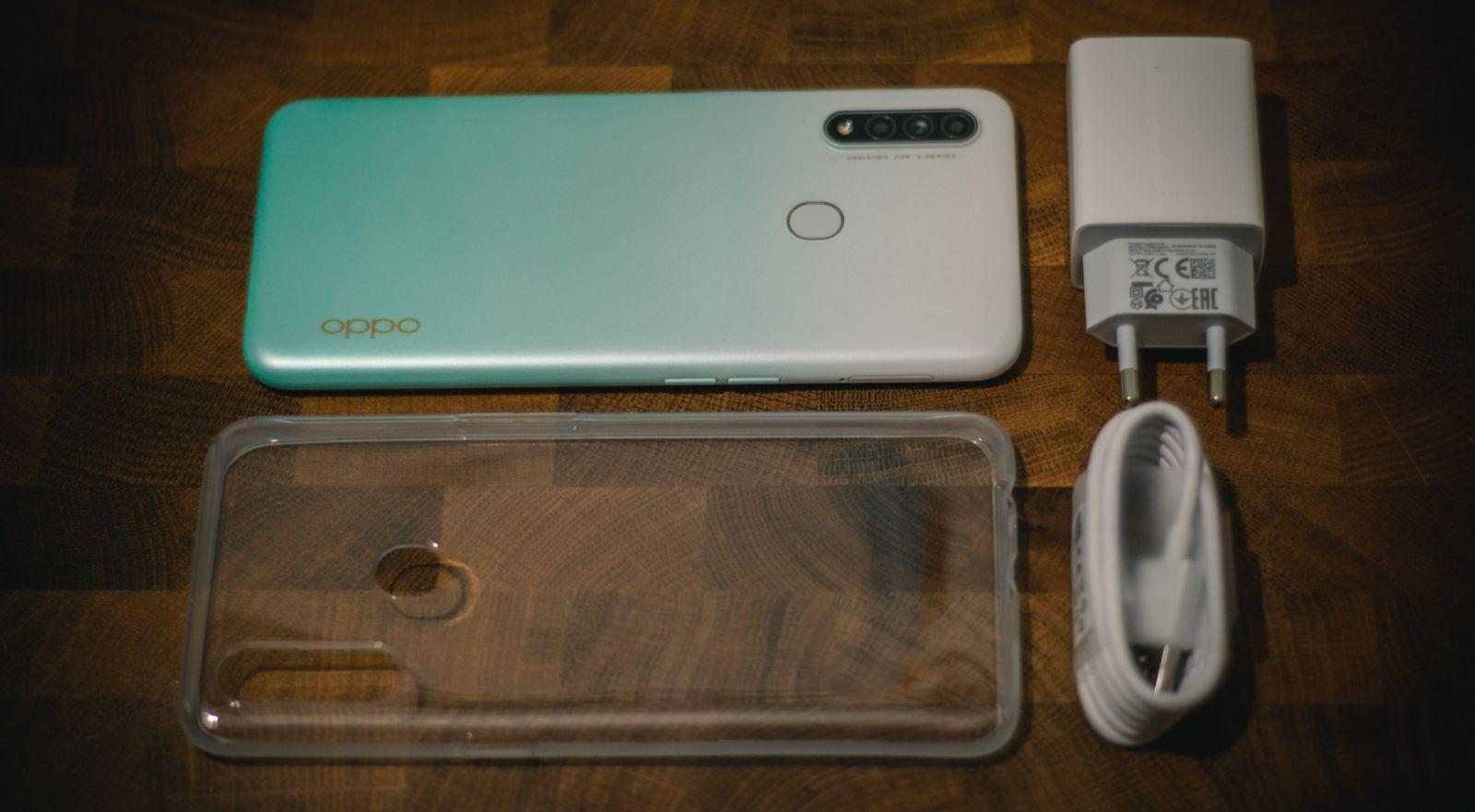 Oppo A31 OPPO A31 smartphone review.  Budget handsome