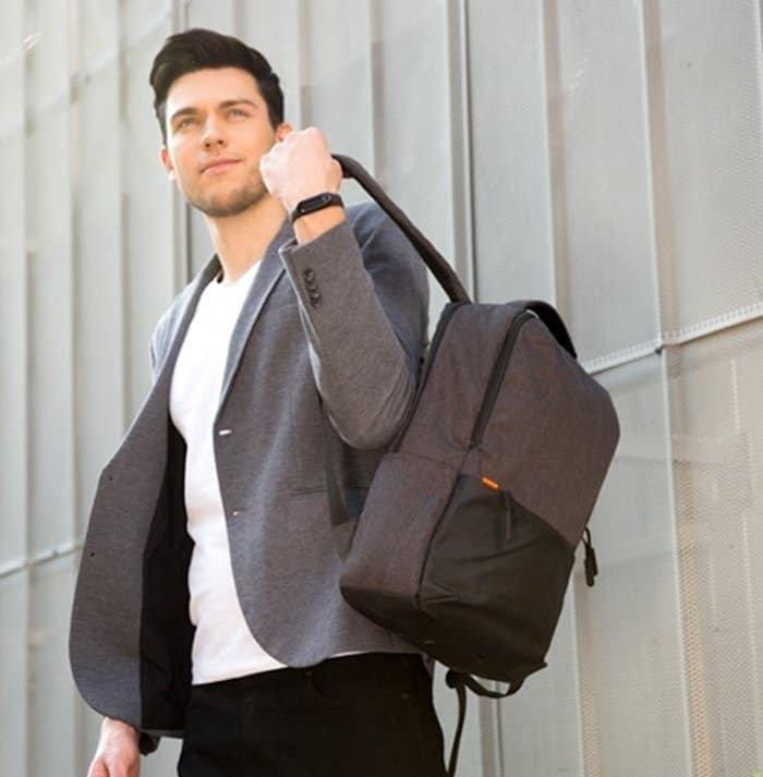 mi-business-casual-backpack Xiaomi backpack now available in two colors