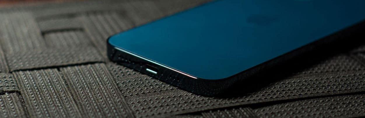 Lightning in iPhone 12 Pro