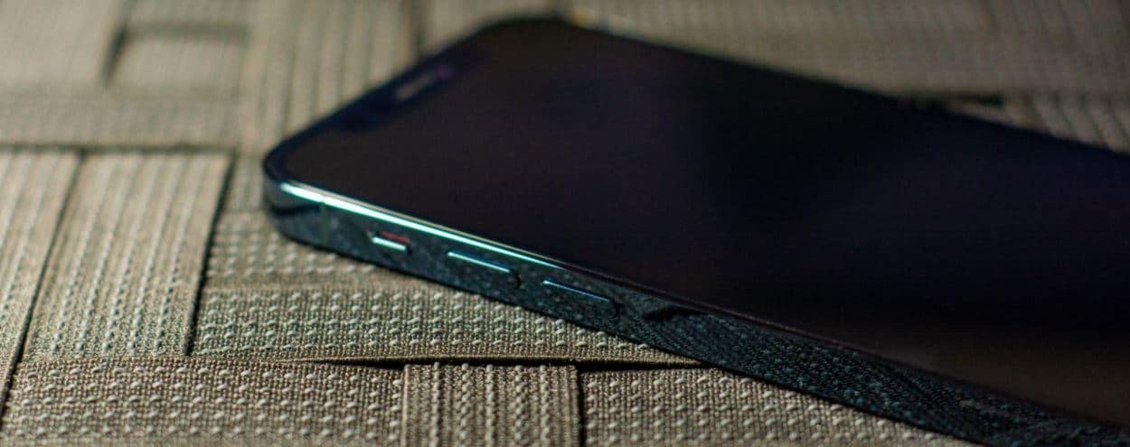 The shiny sides of the iPhone 12 Pro
