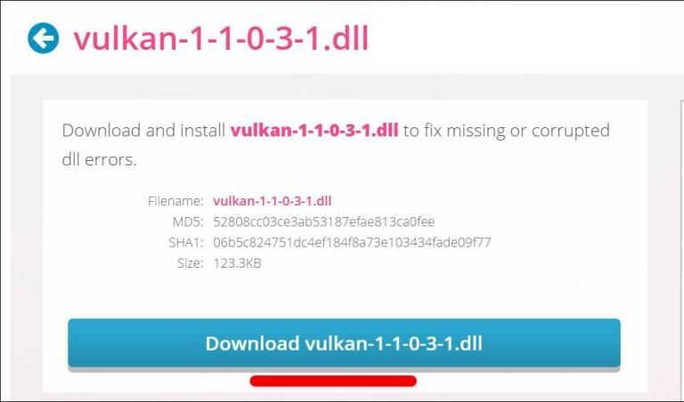 How to Fix Vulkan-1.dll is Missing or Not Found in Windows 10 in 2020