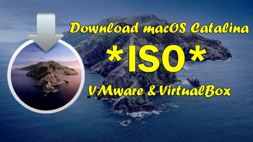 Install macos catalina on virtualbox on mac free