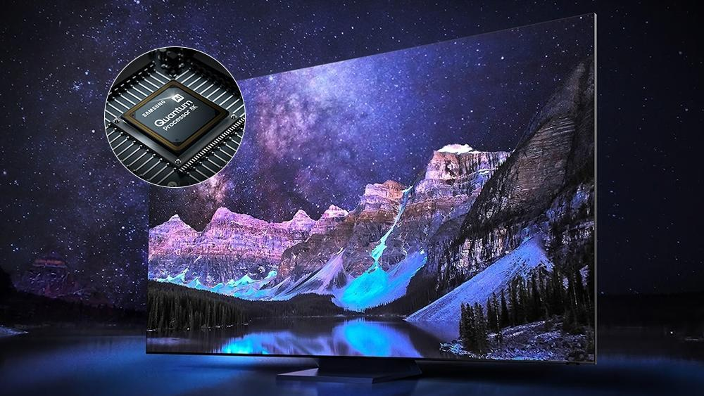 The Secret to the Big UHD TV Screen: Quantum Processor with AI Technology