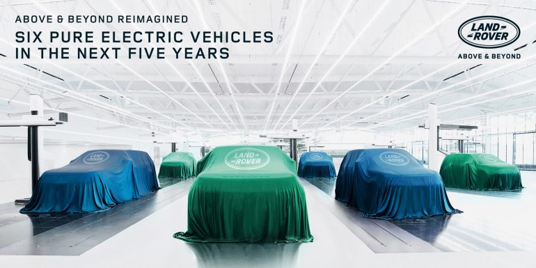Official: Jaguar will switch to all-electric vehicles by 2025, and Land Rover will begin a similar transformation from 2024