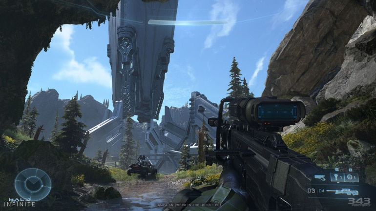 Halo Infinite looks significantly better in new 4K screenshots