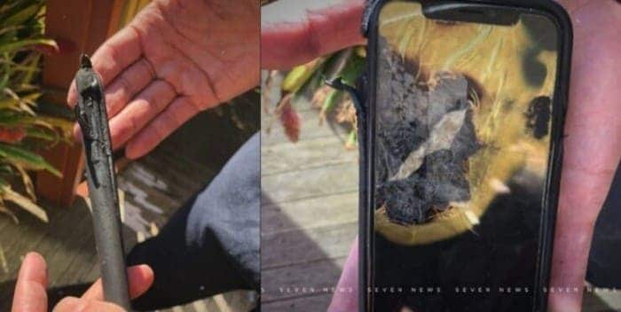 iPhone X exploded in the user's pocket TechRechard