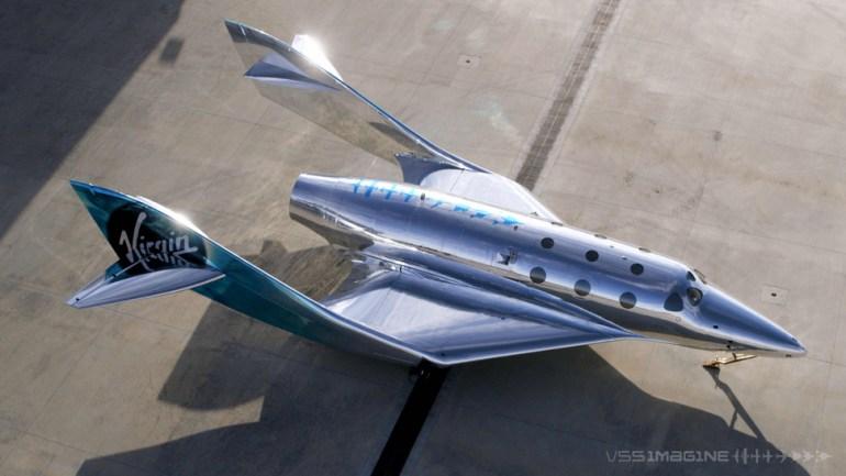 Virgin Galactic unveils VSS Imagine, the third ship in its space fleet