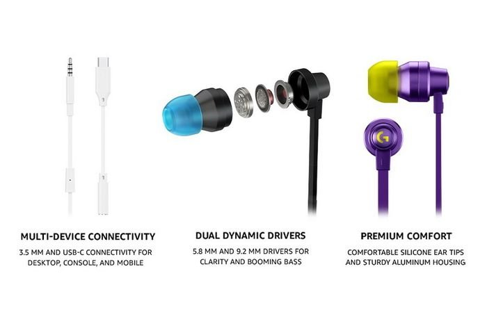 Logitech G333- Non-Canon Gaming Headphones - TECHOBIG