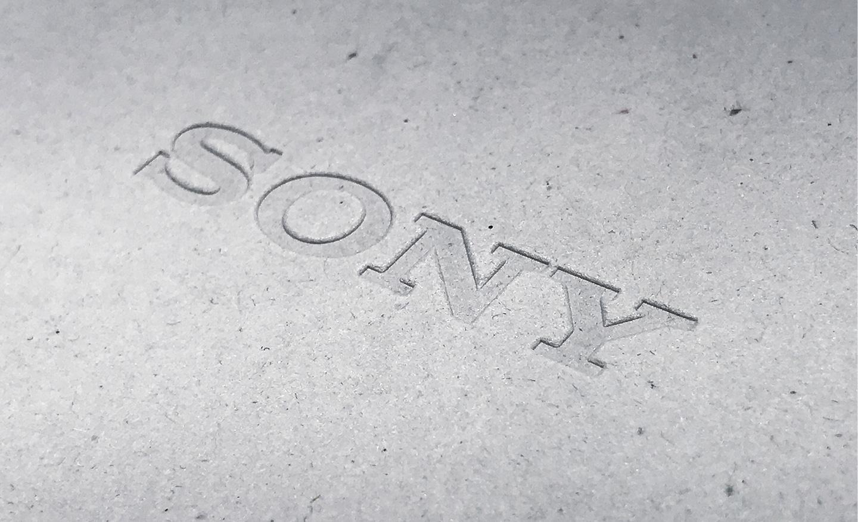 Sony developed environmentally friendly paper material (primery tisneniya)