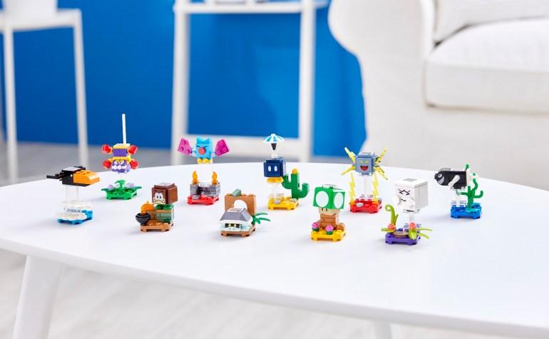 LEGO Super Mario now features LEGO hero Luigi and new sets