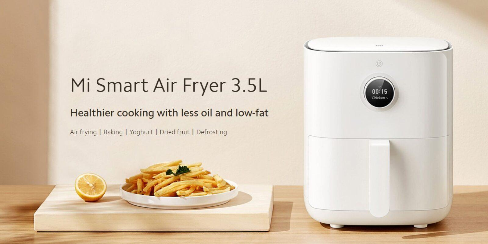 Xiaomi has released several new products to the global market (mi smart air fryer 3.5l)