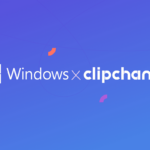 Image describes the Microsoft acquisition of clipchamp