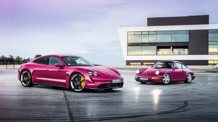 In the US market, the Porsche Taycan electric car came in third place in the brand's sales structure (only the Macan and Cayenne crossovers are ahead)
